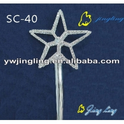 five-pointed star shape scepters