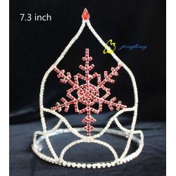Crown Stock Christmas Crown Snow Shape