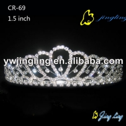 cheap bridal wedding crown tiara