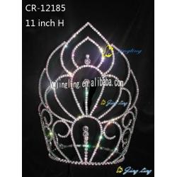 large tiara cheap pageant crown