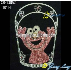 crown flog shape cute animal