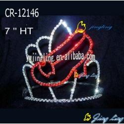 Glitz Pageant Crowns Shoes Shape