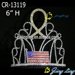 Custom King Crowns Flag shape