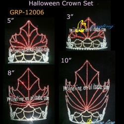 latest group tiara nut tiara halloween crowns