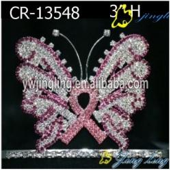 Rhinestone Animal Butterfly Halloween Pageant Crown