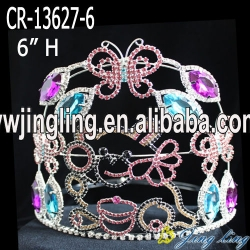 candy bear butterfly pageant crown for kids