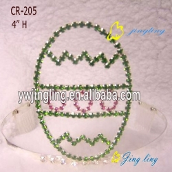 Easter Tiara Crowns Egg Shape Crown