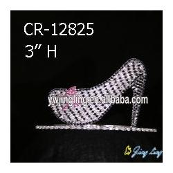 Custom King Crowns High-heeled Shoes