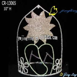 Crown Sun and slippers shape