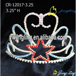 charm star patriotic crown