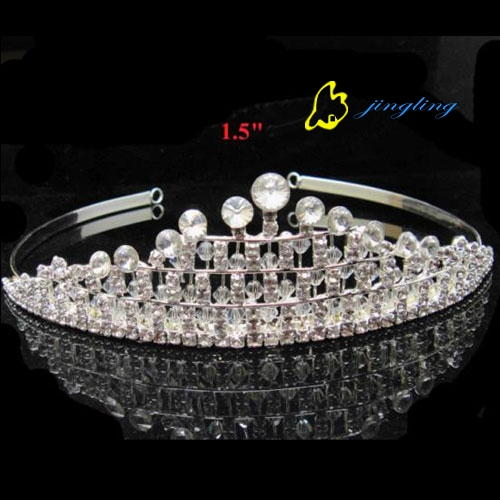 Handmade crystal pageant tiaras