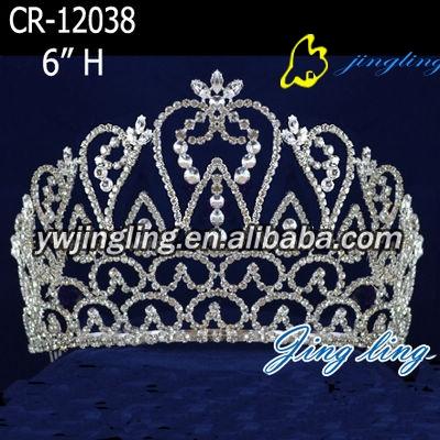 2013 hot latest rhinestone and crystal princess headwear