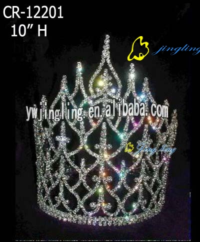 leaf shape pageant crowns