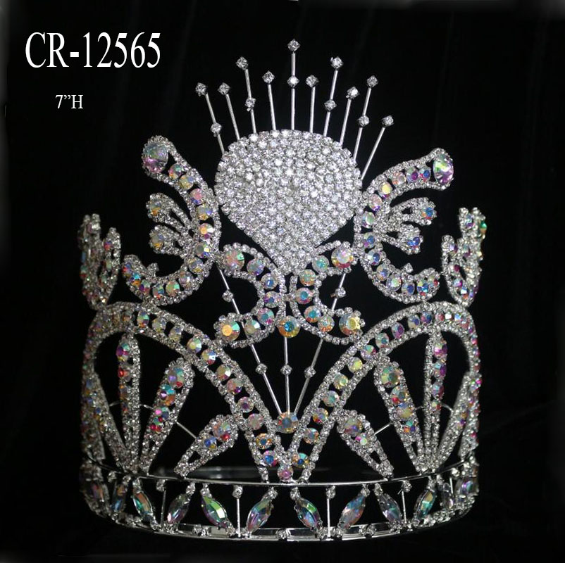color beauty crown for queen