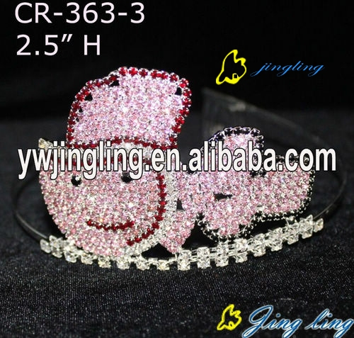 Wholesale Rhinestone Fish Pageant Crown For Sale