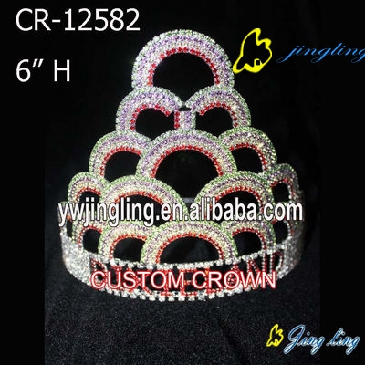 Large Rainbow Crown