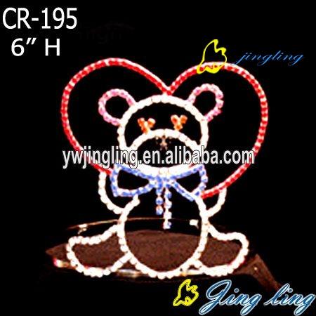 Pageant Crown Cute bear