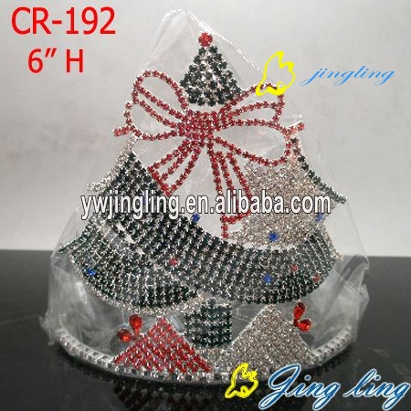 Fashion christmas crown tiara