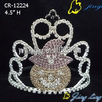 Easter Tiara Crowns Pumpkin Shape