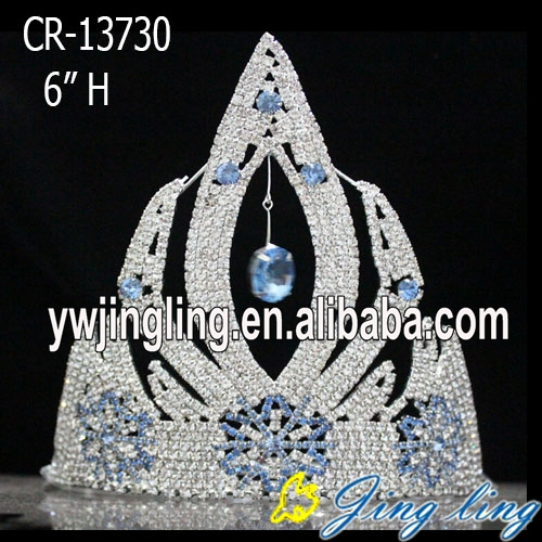 Custom Snowflake Christmas Frozen Pageant Crowns