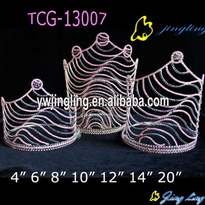 Grown Group Pageant Crown Zebra Group Crown