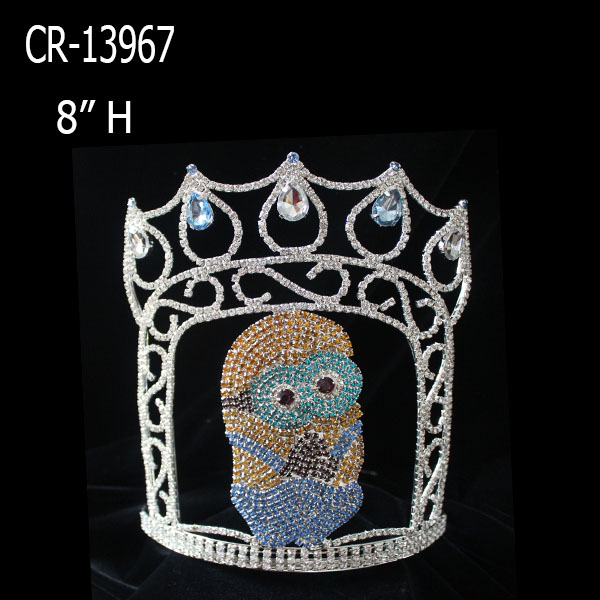 Wholesale custom Minions pageant crown