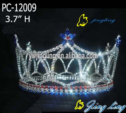 full round star patriotic crowns