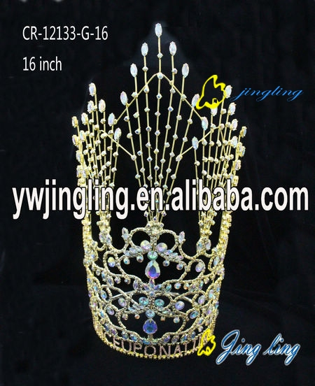 Pageant Crown Gold Crown
