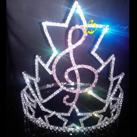 Pageant Crown Music Shape