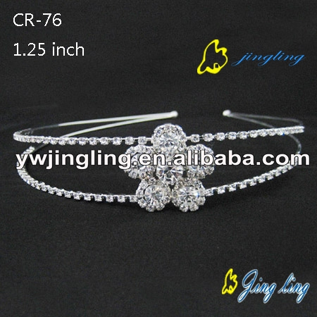 flower shaped tiara hairband