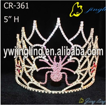 Wholesale Spider Halloween Pageant Crown