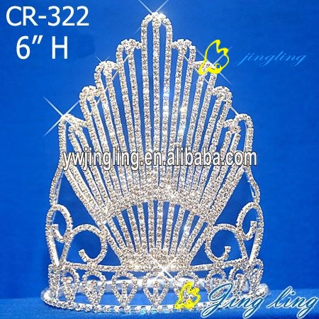 2013 new style rhinestone pageant crown