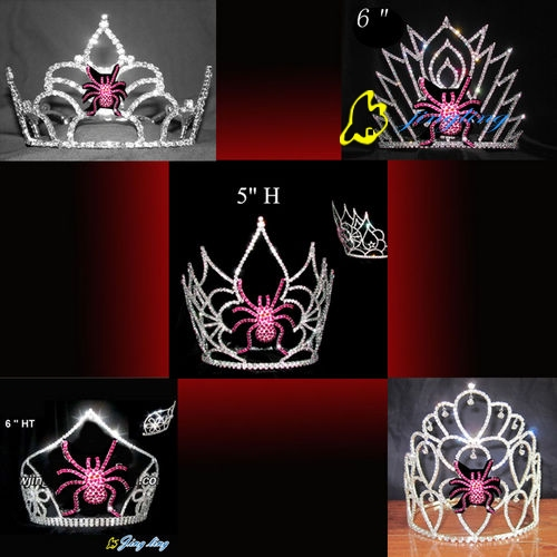 halloween crowns spider shape