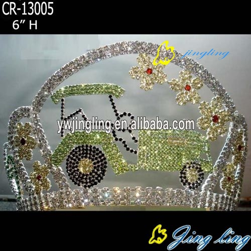 crown car shape flower
