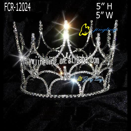 Full Round Pageant Crowns