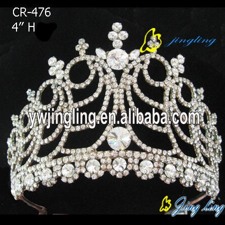 crystal rhinestone pageant crowns