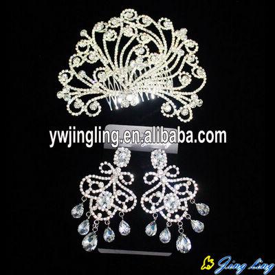 Wedding Tiaras And Earring