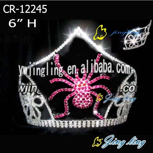 spider tiara halloween crowns