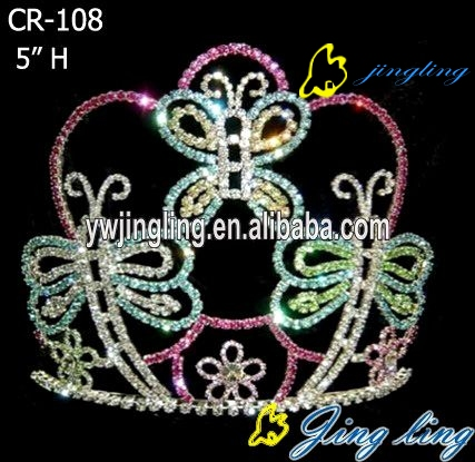 easter butterfly tiara crowns