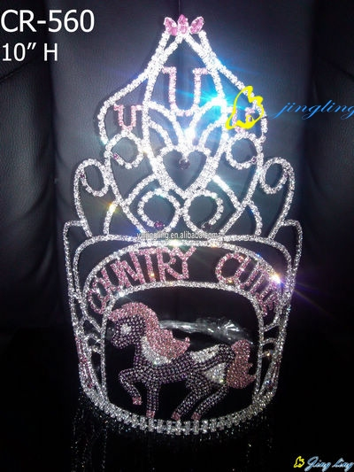 Horse pageant crowns