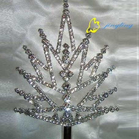 silver double side scepter SC-12