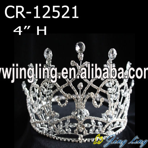wholesale cheap rhinestone pageant crown