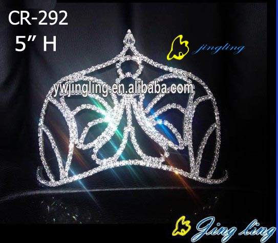 fashion rhinestone crown animal crown