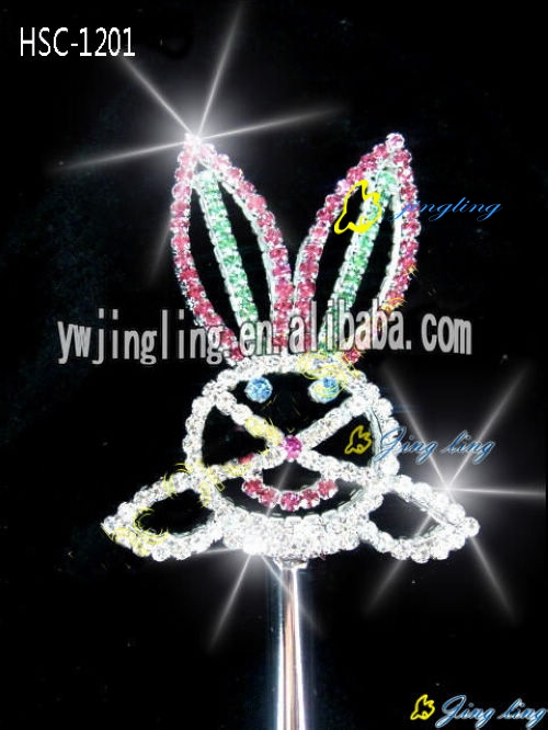 crystal rabbit halloween scepter