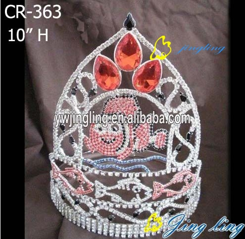 new style animal fish special custom pageant crowns