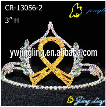 Ribbon Crown Yellow Color