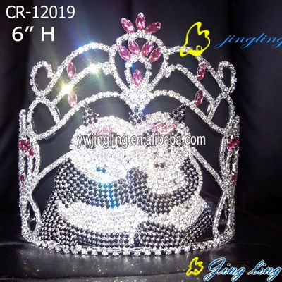 Pageant Crown panda shape