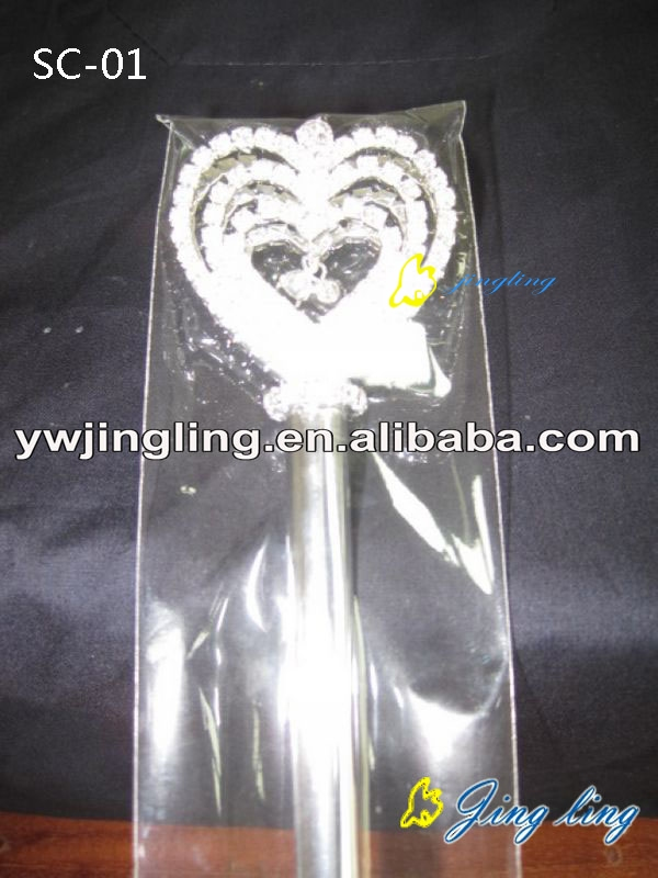 heart shape Pageant Scepters