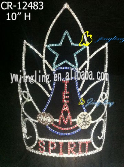 2013 hot rhinestone shining star patirotic crown