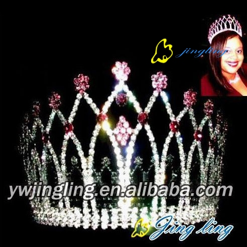pageant full round crown